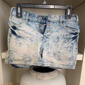 levi's acid wash shorts